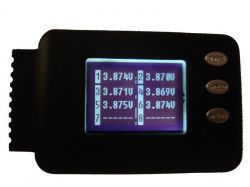 Celllog8s Battery logger/tester