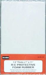 10150 Dubro Foam Rubber 1/4""