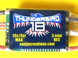 21571 Thunderbird 18A ESC