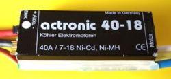 21568 Actro 40-18 ESC