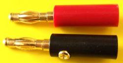 10293  Banana plug pair 4m